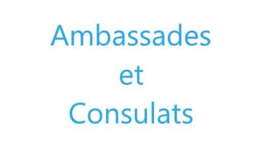 IMG - Ambassade & consulats